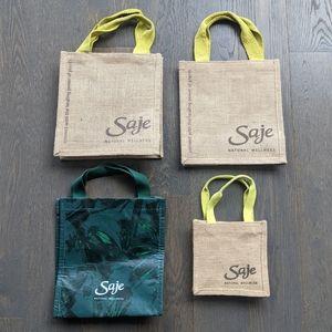 FREE Saje Bundle of 4 Reusable Tote Bags